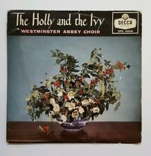 The Holly And The Ivy Westminster Abbey Choir 7 Inch Vinyl