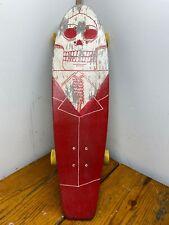Kryptonics Skateboards USA Flag Mini Longboard Deck Clean Wheels And Trucks