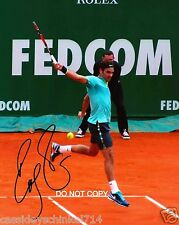"Roger Federer Reprint Signed 8x10"" Photo #2 RP Tennis Legend Grand Slam Champ"