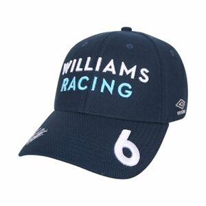 Williams Racing F1 Nicholas Latifi Team Cap - 2021 - Blue