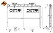 NRF Radiador, refrigeración del motor ROVER 25 200 STREETWISE MG EXPRESS 55307