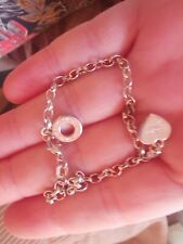 Sterling silver Thomas Sabo Bracelet with a heart charm