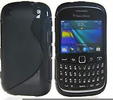S-Gel Wave Tough Shockproof Phone Case Gel Cover Skin for BlackBerry Curve 9320