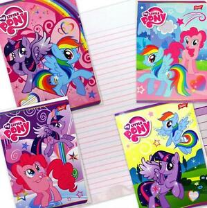 My Little Pony Handwriting Exercise Book 16 page 3-lined. Zeszyt w linie 16 k