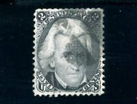 USAstamps Used VF US Series of 1867 Jackson Scott 87 E Grill