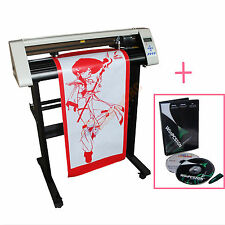 "24"" Vinyl Sign Sticker Cutter Plotter with Contour Cutting Function & WinPCsign"