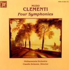 MUZIO CLEMENTI - FOUR SYMPHONIES  - 2 LP  - 1979