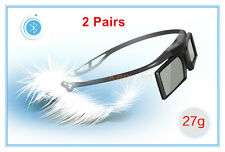 New 2 pairs 3D RF Active Glasses for 2015 Sony 3D TV & TDG-BT500A TDG-BT400A