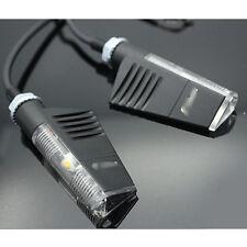 Motorcycle Universal Black LED Turn Signal Light Indicator Blinker Light 2pcs