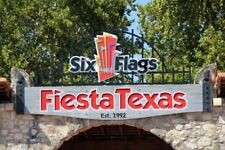 SIX FLAGS FIESTA TEXAS TICKETS $39 A PROMO SAVINGS DISCOUNT TOOL + Free Parking