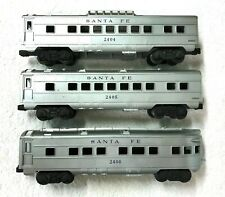 Lionel No. 2404 2405 2406 Santa Fe Passenger Car Set