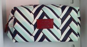 Elemis Misha Nonoo design striped cosmetic/makeup/travel Bag 20x5.5x10cm NEW