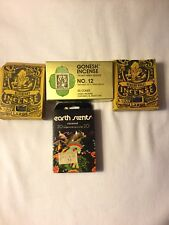 Lot of 4 Incense Vintage never used 1970's Gonesh no. 12 & olfactory 110 cones