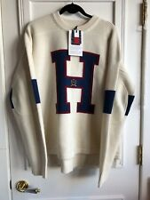 "KITH x TOMMY HILFIGER ""H"" Sweater 100% Authentic 100% Wool Size Medium"