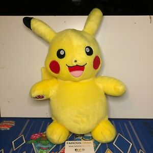 Build A Bear Pokemon Pikachu Plush Toy - BRAND NEW WITH TAGS