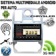 AUTORADIO ANDROID 6.0 KD-CC930 PER CHRYSLER 300C WIFI 3G BLUETOOTH GPS