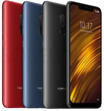 "Xiaomi Pocophone F1 6.18"" Black Blue Red 64GB Dual SIM Snapdragon 845 By FedEx"