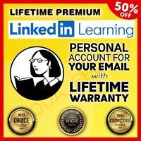 Lynda Premium 2020 🔥 Lifetime Unlimited 🔥 LinkedIn Learning Fast Delivery 👑
