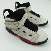 Nike Air Jordan 6-17-23 Toddler Shoes Size 10C White Red Black 428820-100