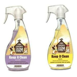 Tiny Friends Farm Keep It Clean Disinfectant Spray 500ml Pet Odour Eliminator