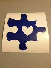 Autism Awareness Blue Puzzle Piece Vinyl Die Cut Decal,window,car,truck,ipad