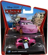 Disney Cars Cars 2 Main Series Mary Esgocar Exclusive Diecast Car