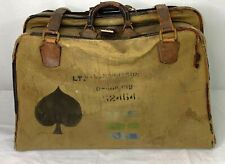 Vintage Us Army Named Officers Suit Case