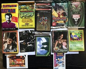 NON-SPORTS/NON-SPORT TRADING CARDS LOT. PACKS & SINGLES! Comics & Movies & More!