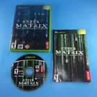 Enter the Matrix - Xbox - Complete In Box - Cleaned/Tested - Free Shipping