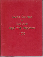 10049. Masonic Order Royal Arch Grand Chapter Constitutions 1970