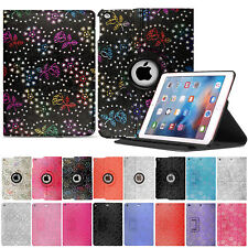 For Apple iPad pro 11 10.5 9.7 air mini 5 360 rotating leather stand case cover