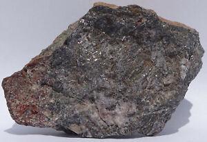 GALENA altering to ANGLESITE--Tonopah-Belmont mine, Arizona--Collected 03-26-97!