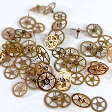 25 Watch Wheels Rose Gold Copper Steampunk Gears Part Watchmaker altered art lot