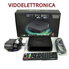 ANDROID TV  BOX 4.4 QUAD CORE KODI XBMC TV BOX 1GB / 8GB MXQ IPTV.