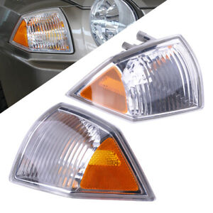 Front Parking Light Fit for Jeep Compass 2007-2010 L+R Side Turn Signal Decor