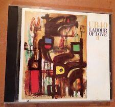 ☀️ Labour of Love II by UB40 1989 Music CD Here I Am The Way U Do Things U MINT