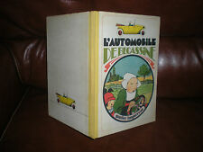 L'AUTOMOBILE DE BECASSINE - EDITION 1976 DOS TOILE