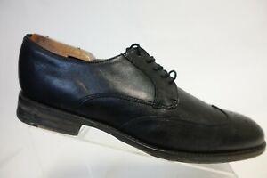 BANANA REPUBLIC Black Sz 10 M Men Wingtip Derby Dress Shoes