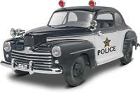 REVELL MONOGRAM 4318 1/25 1948 FORD POLICE COUPE 2 N 1 Model Car Kit FREE SHIP