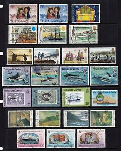 Tristan da Cunha fine used commemoratives incl. Whales and HMS Challenger