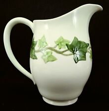 "FRANCISCAN IVY Water Pitcher, Older Mark, 50'S, MINT, 8"" tall"