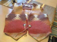 One of a Kind! Designer Southwest Handloomed Wool Vest by ViVi of Santa Fe