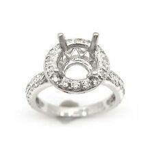 0.60 PLATINUM DIAMOND ENGAGEMENT RING MOUNTING SETTING