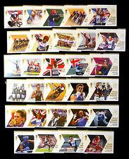 Go 2012 médaille d'or olympique gagnants complète (29) non montés nouveau prix de vente bn1708