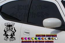 """Voiture Graphique Vinyle Fun Sticker drôle 7 """"x5"""" vw ford peugeot Vauxhall SUBARU stock"""