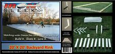 Iron Sleek Backyard Ice Rink Systems 20 x 20 Kit