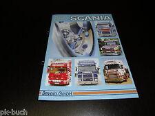 Scania Zubehör Katalog von Bevola Stand 2001 Kabinenzubhör Bullfänger Sidepipes
