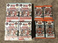 Panini Contenders Football NFL 200 CARD LOT | NEW SEALED Blasters Hangers Cellos