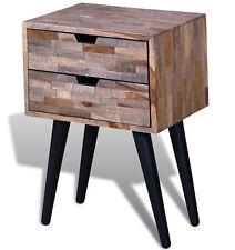 Industrial Side Table Vintage End Furniture Bedside Storage Cabinet Metal Unit
