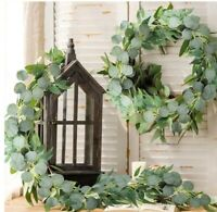 2m Artificial Eucalyptus Leaves Wedding Party Decoration Garland Wedding Decor